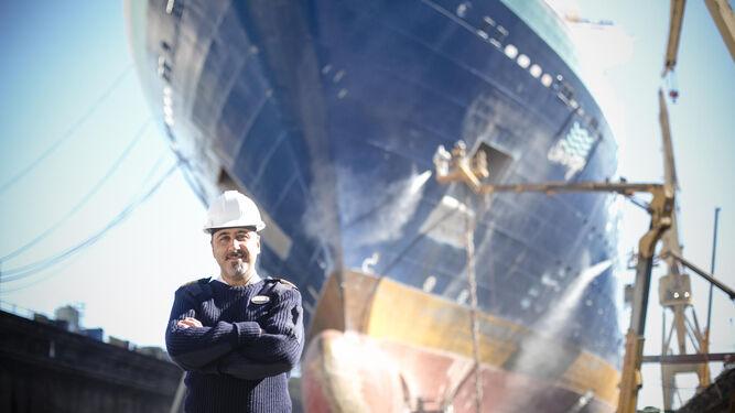 El director de crucero del 'Sovereign' ha vivido muy de cerca las tres semanas que han durado las obras de revitalización del buque de Pullmantur.