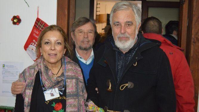 María José Romero, Jesús Jorge Gutiérrez y José María Gutiérrez.