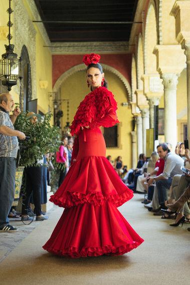 Desfile antesala We Love Flamenco