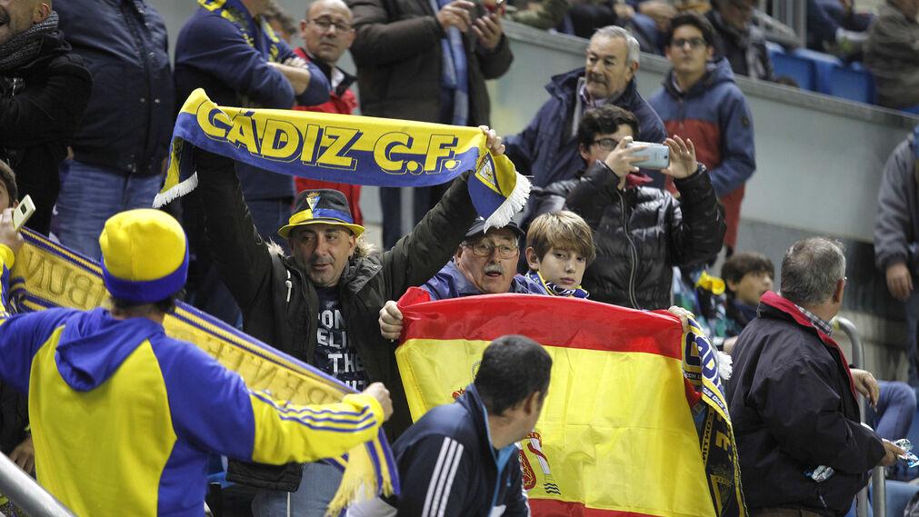 Las imágenes del Cádiz-Barcelona B