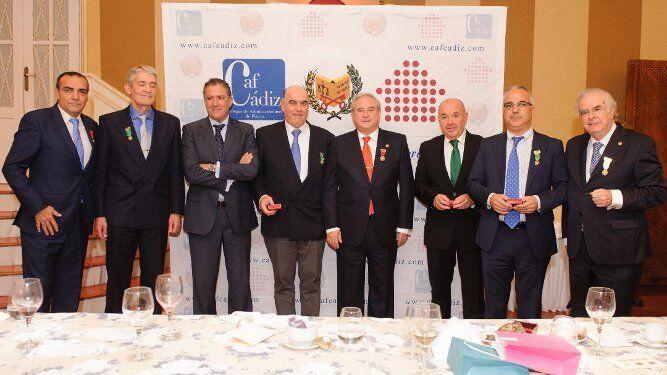 Carlos de Osma, José Antonio Benítez, Manuel Estrella, Rafael Orequia, Rafael Trujillo, Juan Domingo de la Concepción, José Ignacio Rozadillas y Sebastián Montaldo.