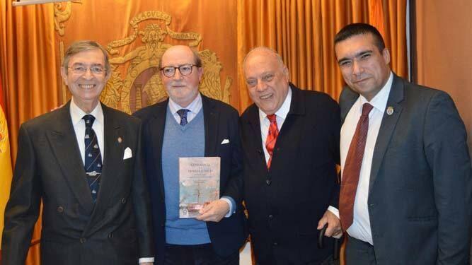 Francisco Súnico, Ignacio Moreno, Guillermo Boto y Francisco Glicerio Conde Mora.
