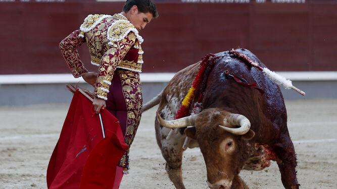 Ginés Marín en su triunfo isidril en el pasado San Isidro.