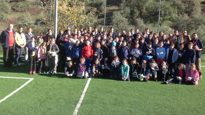 Foto de familia con todos los participantes
