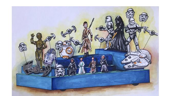 Los personajes de 'Star Wars' tampoco faltarán en la Cabalgata