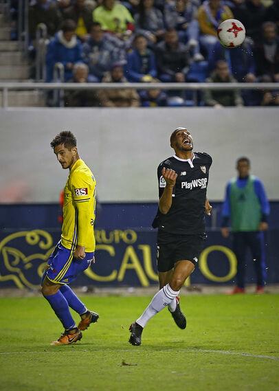 Las imágenes del Cádiz-Sevilla de Copa