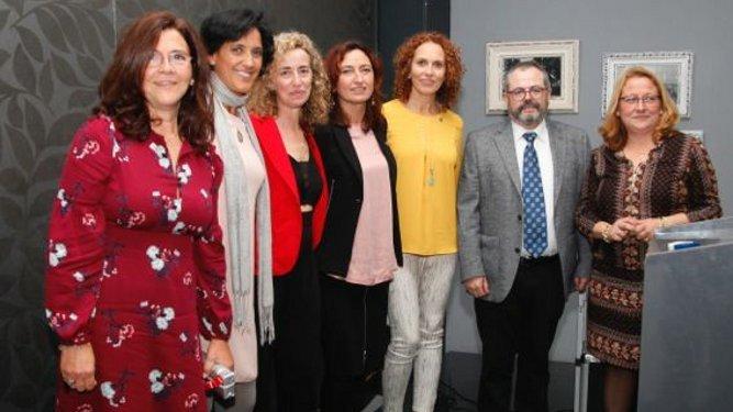 Inmaculada Calvario Arce, Ana Mary Espinar, Maria José Cumbreras, Sonia Espinosa, Lorenzo Rus Jiménez y Lourdes Marín.