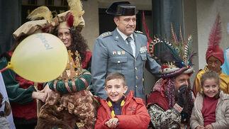 Acto de los Reyes Magos en la Comandancia de la Guardia Civil