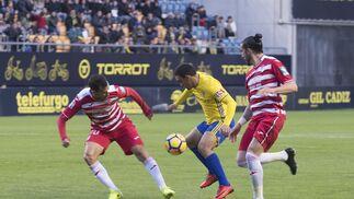 El Cádiz CF-Granada CF