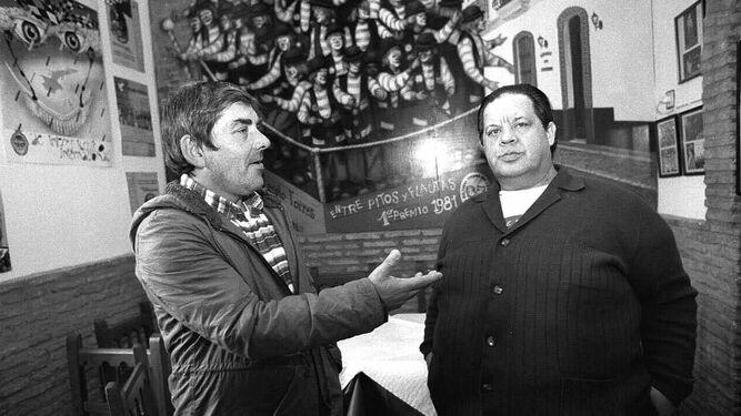 Pepe Scapachini junto al Masa.