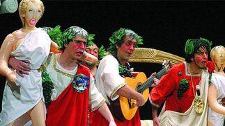'Golfus de Roma', Carapalo, S. Reyes y Aragón. Ambos autores, con la música de Juan Carlos Aragón, lograron el quinto puesto. Dirigida por el recordado 'Petra'.