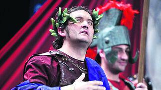 'Un cuarteto para la historia', cuarteto de Ángel Gago. Primer accésit de 2011. Tocaron varios temas de la historia de Cádiz, pero fue en cuartos cuando se convirtieron en romanos.