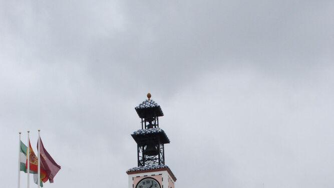 Fachada principal de Ayuntamiento de Puerto Real, en la Plaza de Jesús.