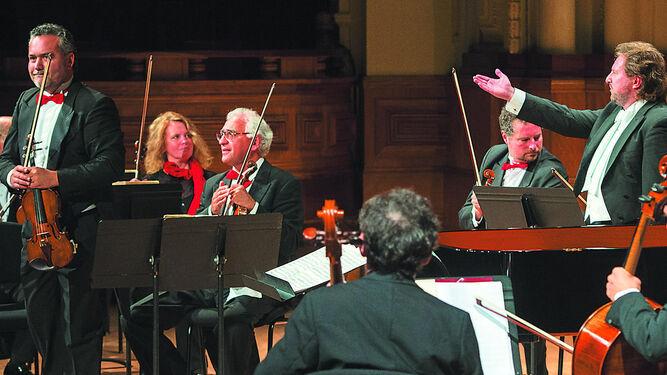 Una imagen de la Camerata de la Orquesta de San Petersburgo.