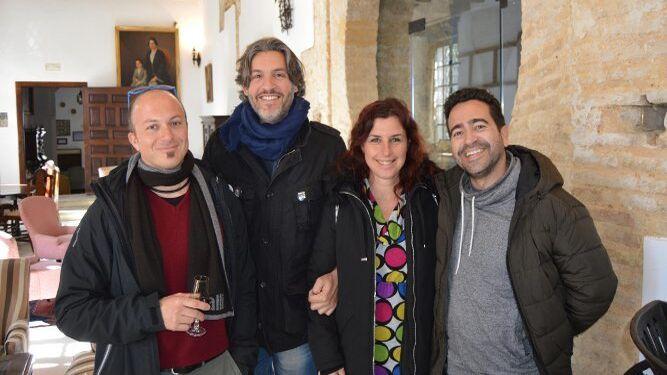 Chito Silvio Vitali, Kico Gómez, Sara Coello y Juan Jaén.