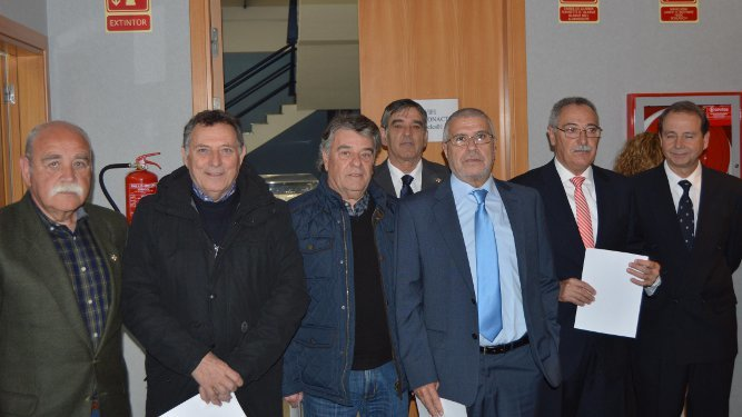 Eugenio Gómez, Víctor López, Juan José Morales, Manuel Núñez, José Antonio Ramírez, José Manuel Regaña y José Rubiales.