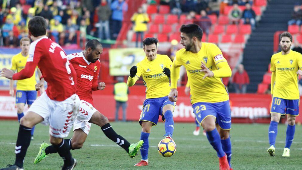 El Nástic-Cádiz CF, en imágenes