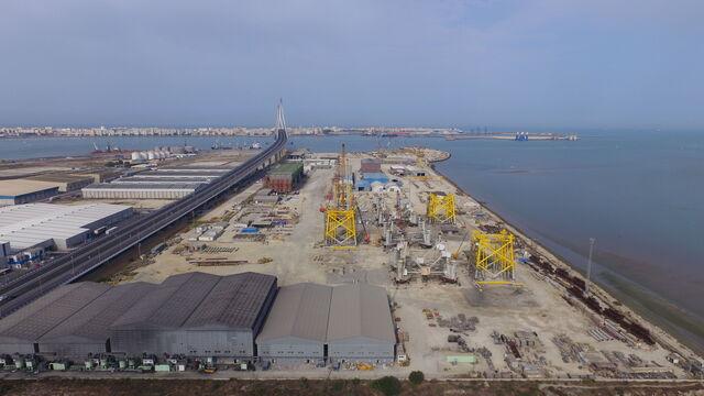 Dragados offshore logra un nuevo contrato para el mar del for Gimnasio 360 puerto real