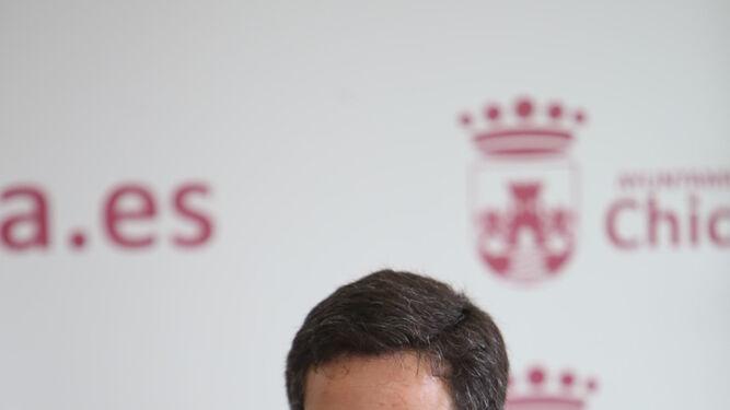 José Manuel Vera, delegado municipal de Tráfico.