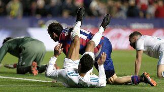 El Levante-Real Madrid, en imágenes