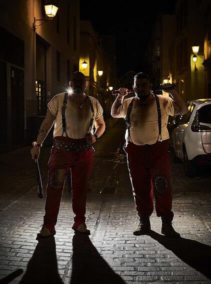 Comparsa 'Los Mafiosos'