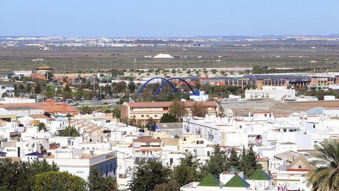 Vista panorámica de parte del casco urbano, en una imagen de archivo.