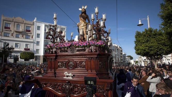 El misterio de Columna, en el pasado Domingo de Ramos.