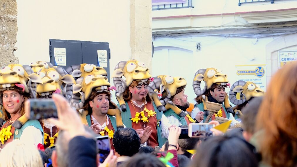 Las imágenes del Sábado de Carnaval