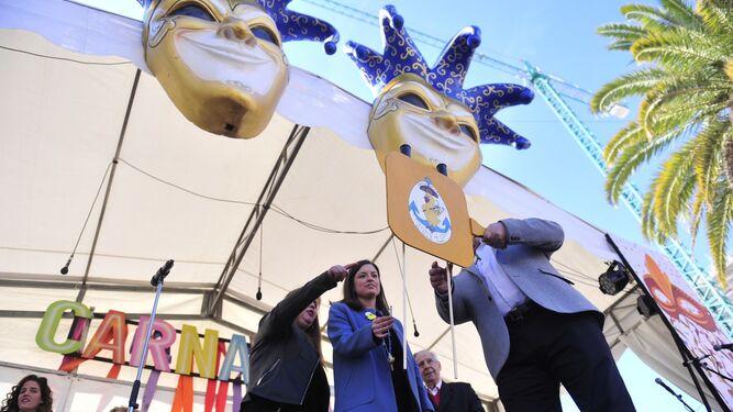 Chupinazo del Carnaval isleño
