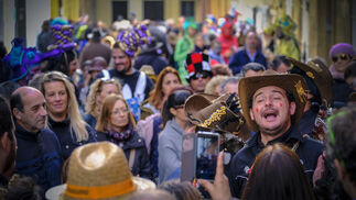 Imágenes del lunes de Carnaval