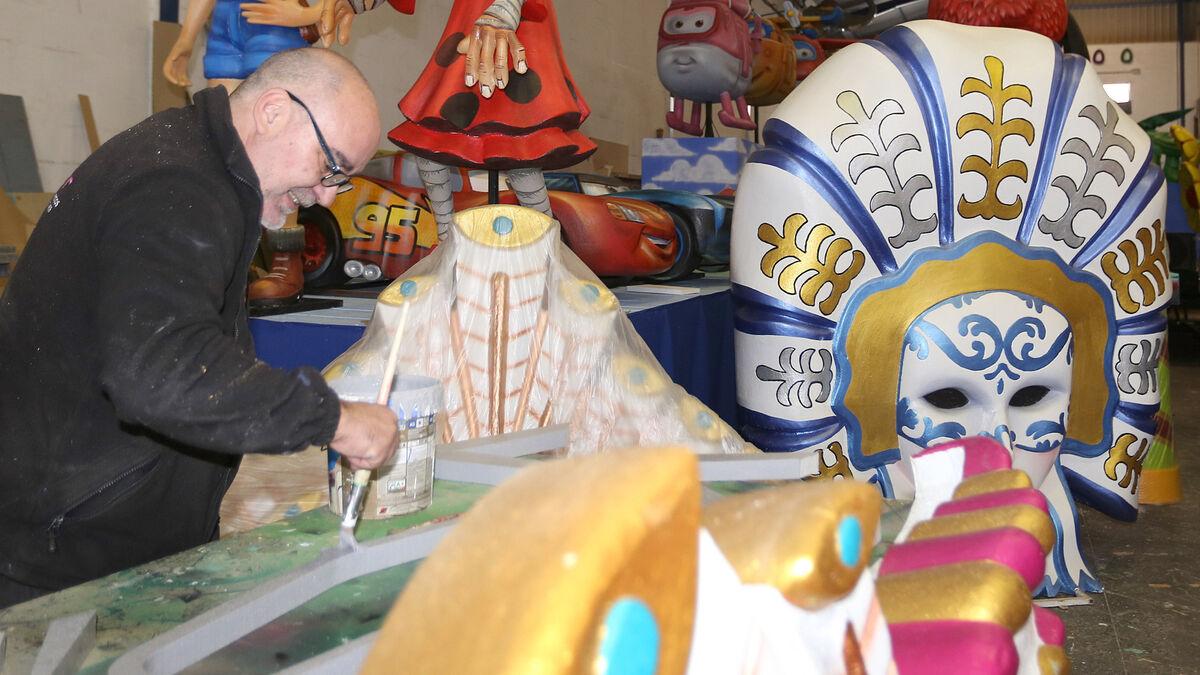 La Cabalgata De Carnaval Del Sábado Contará Con Siete Carrozas