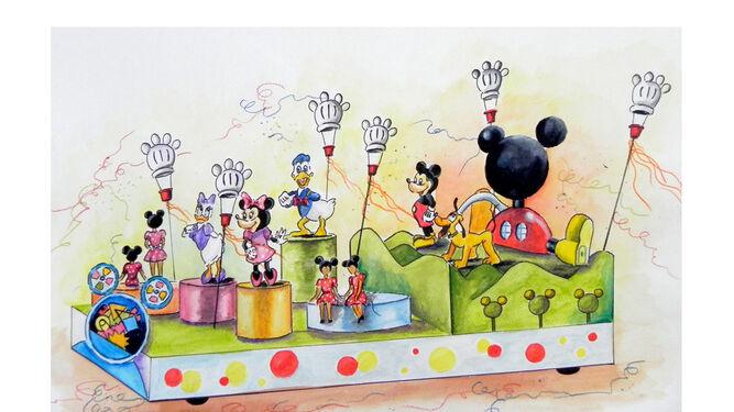 Mickey y sus compañeros de 'Playhouse Disney' también estarán en la cabalgata