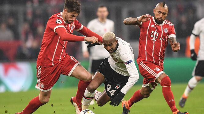 Un momento del Bayern-Besiktas