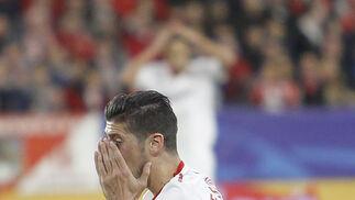 Las imágenes del Sevilla-Manchester United
