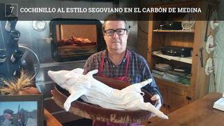 El Ventorrillo El Carbón se ha especializado en asados al estilo segoviano. Sebastián Sánchez, su propietario, se fue hasta Segovia para aprender la técnica del asado, compró un horno de leña, que ocupa la cuarta parte de uno de los comedores, y está ofreciendo cochinillos y corderos lechales que trae directamente desde Castilla y León, además de cabritos de las sierras de Cádiz y Málaga. El  Carbón está al comienzo de la cuesta hacia Medina viniendo desde Chiclana.