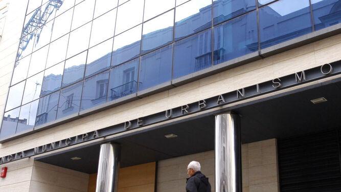 Sede del área de Urbanismo, en la calle Constitución.