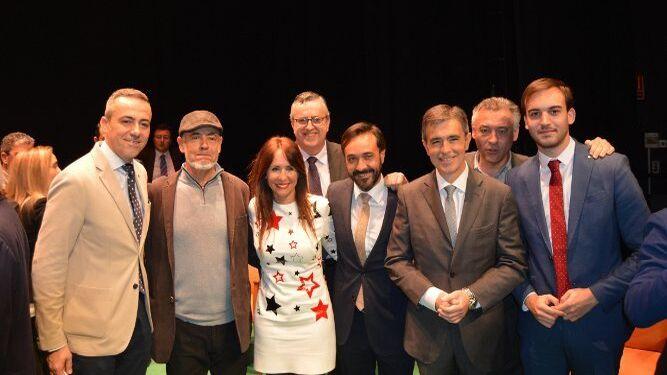 José Antonio Valle, Vicente García, Gema Pérez, Ángel Gabino, José Manuel Miranda, Federico Fernández, Ángel Acuña y Daniel Moreno.