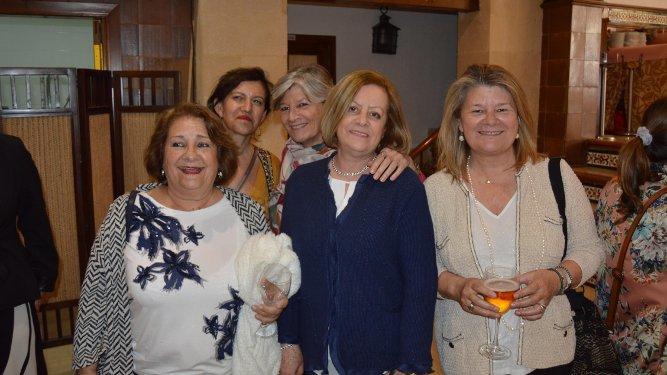Milagrosa Chacón, Toya Castro, María José Rodríguez-Sánchez, Cristina Jareño y Carmen Rodríguez-Sánchez.