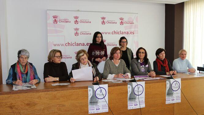 La Delegación de Mujer y colectivos feministas presentaron ayer los actos del programa.
