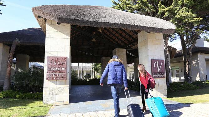 El Hotel Vincci es uno de los que tiene previsto ponerse de nuevo en funcionamiento esta misma semana.