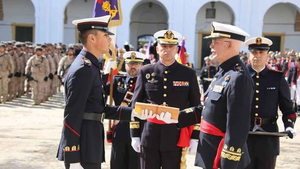 San Fernando celebra los 481 años de la Infantería de Marina