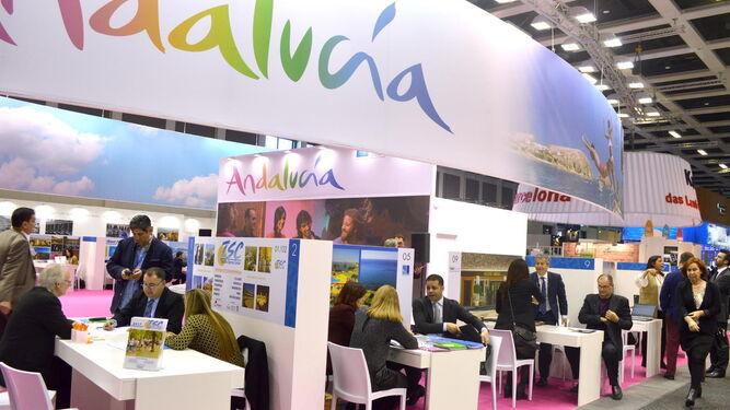 Espacio dedicado a Andalucía, del que formará parte la ciudad, durante la pasada edición de la ITB.