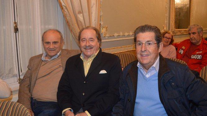Nono Copano, Pepe Vázquez y Ernesto Pérez Díaz-Alersi.