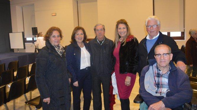 Gloria Ojeda, Ángela Martínez, José Ramón Pérez Díaz-Alersi, Josefa Díaz, Hans Joseph Artz y Luis Ramírez.