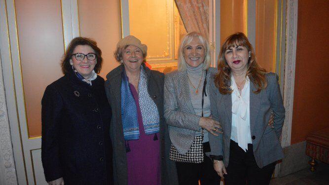 María Cárdenas, Vicky Bermúdez, Susi Cigüela y Ana María Fimia.