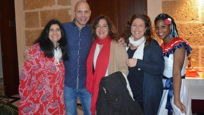 Sandra Reyes, Miguel Gómez, Isabel Orihuela, Leto Vierna e Hilariza Hernández.