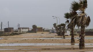 Imágenes del paso del temporal por Camposoto