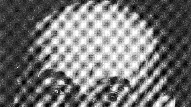 El isleño Juan Rodríguez Aragón, fallecido en 1974, en una fotografía que aparece en la obra 'Los topos'.
