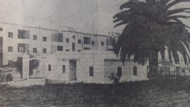 La vivienda de Juan Rodríguez en San Fernando, en una imagen tomada en enero de 1968 por el fotógrafo de 'Diario de Cádiz' Juman.