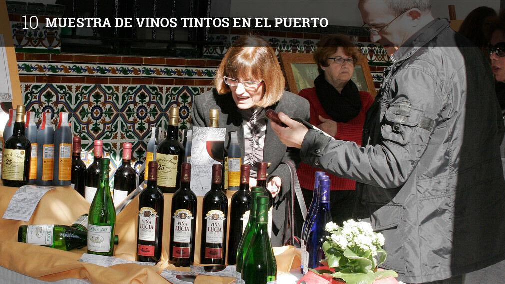 El Claustro del Instituto de Enseñanza Media Santo Domingo acoge el sábado 17 de marzo la novena edición de la Muestra de Vinos Tintos de la Provincia de Cádiz. Varias bodegas de la provincia expondrán sus productos y los darán a probar